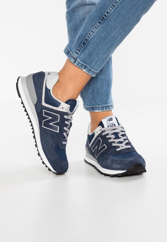 Sneakers Donna | New Balance WL574 Blu